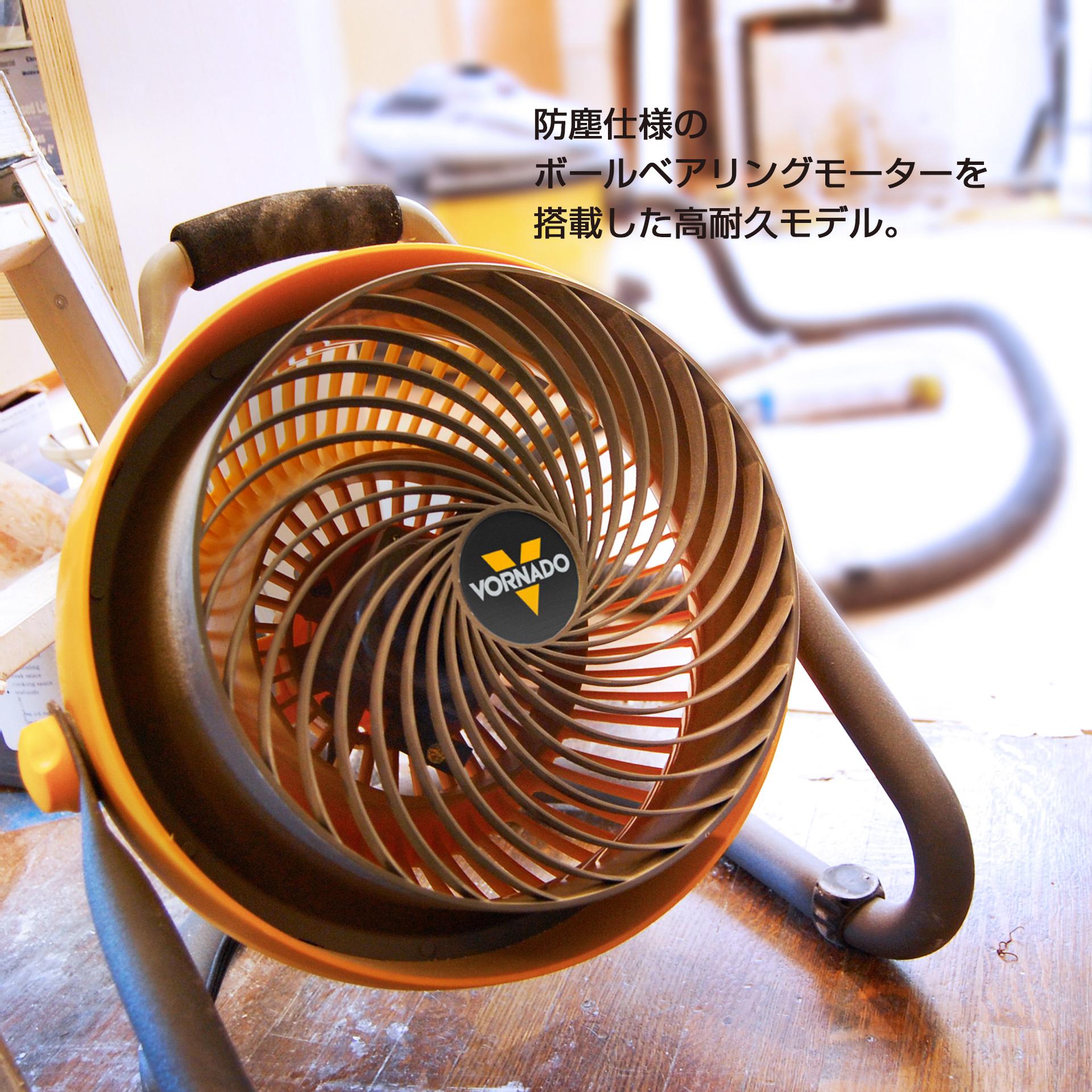 防塵仕様のボールベアリングモーターを搭載した高耐久モデル。